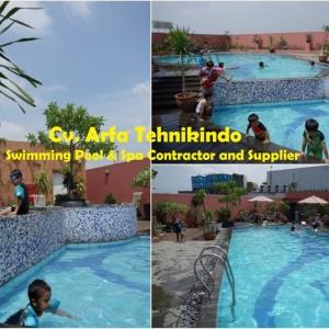 Pool Hotel Golden Flower Bandung