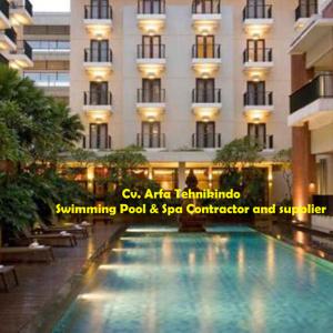 Pool Hotel Santika Malang