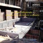 Konstruksi Pool  Lembah Dieng-malang