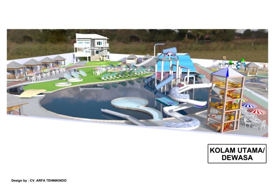 Design Kolam Dewasa